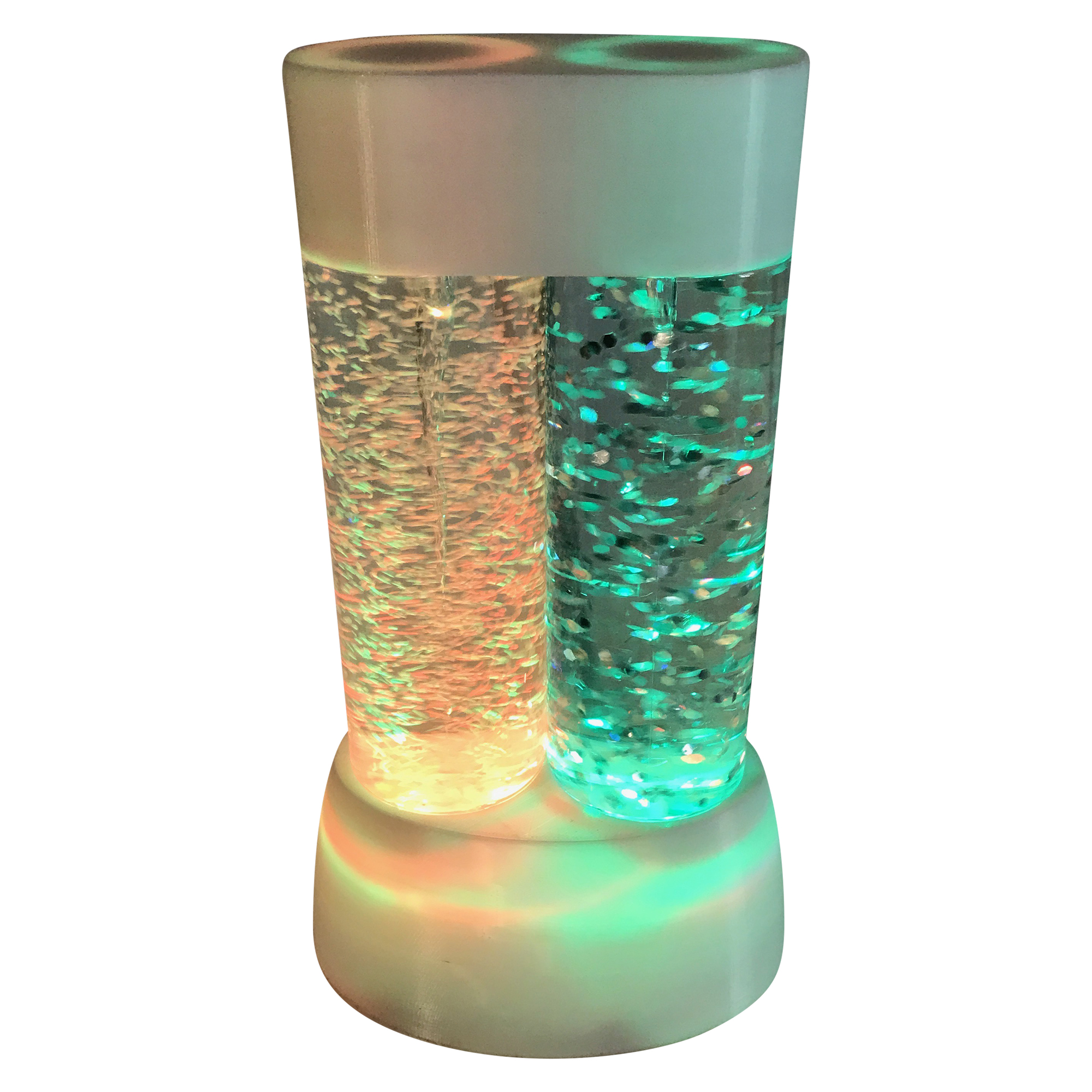 Electrical Twin Tornadoes Lamp; Product Size: 9.84 x5.78x3.81 by Creative Motion Industries, Inc