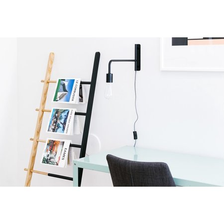 Canvas Print Newspaper Rack Business Office Magazines Interior Stretched Canvas 32 x 24