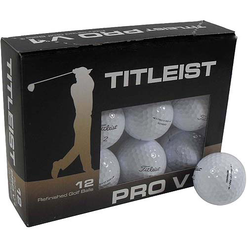 Titleist Pro V1 Refinished Golf Balls Set Of 12