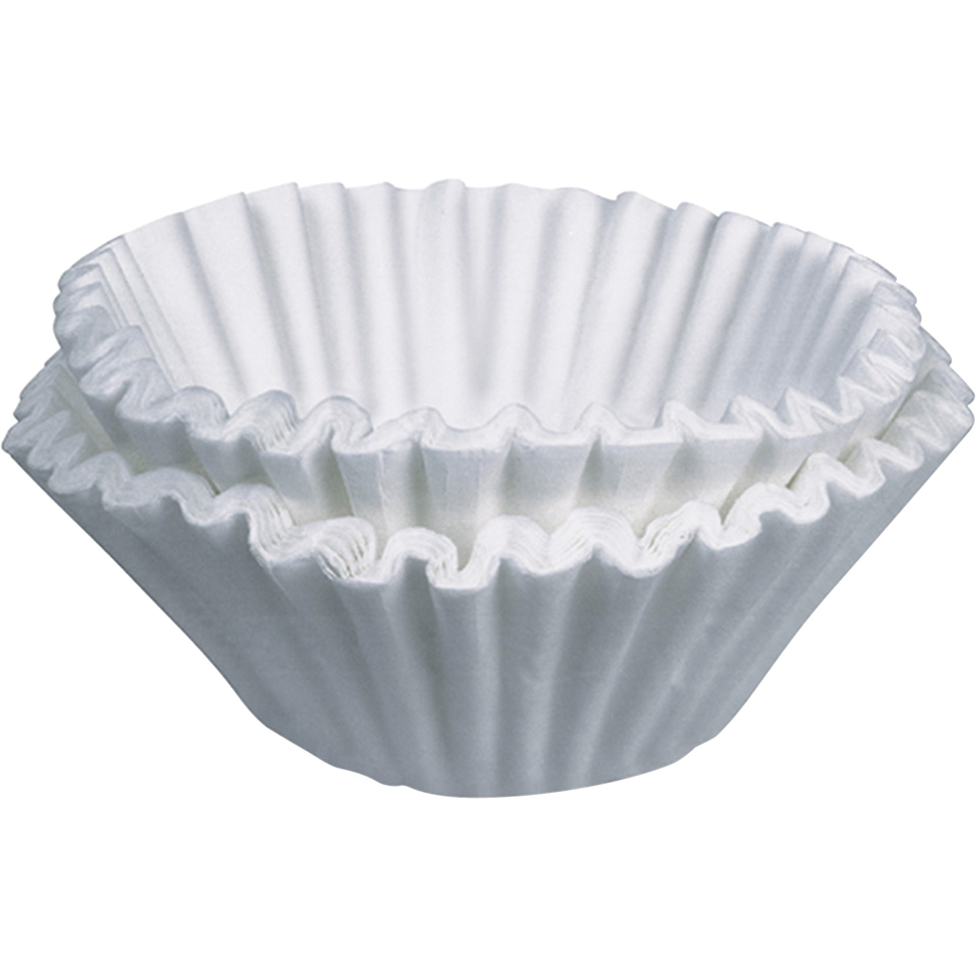 BUNN, BUNBCF250,Commercial Coffee Filters, 250 / Box, White