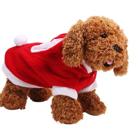 Animal Jackets With Ears (Cute Creative Rabit Style with Big Ears Pet Cotton Coat Warm Sweater Clothes Wear for Pets Color:red)