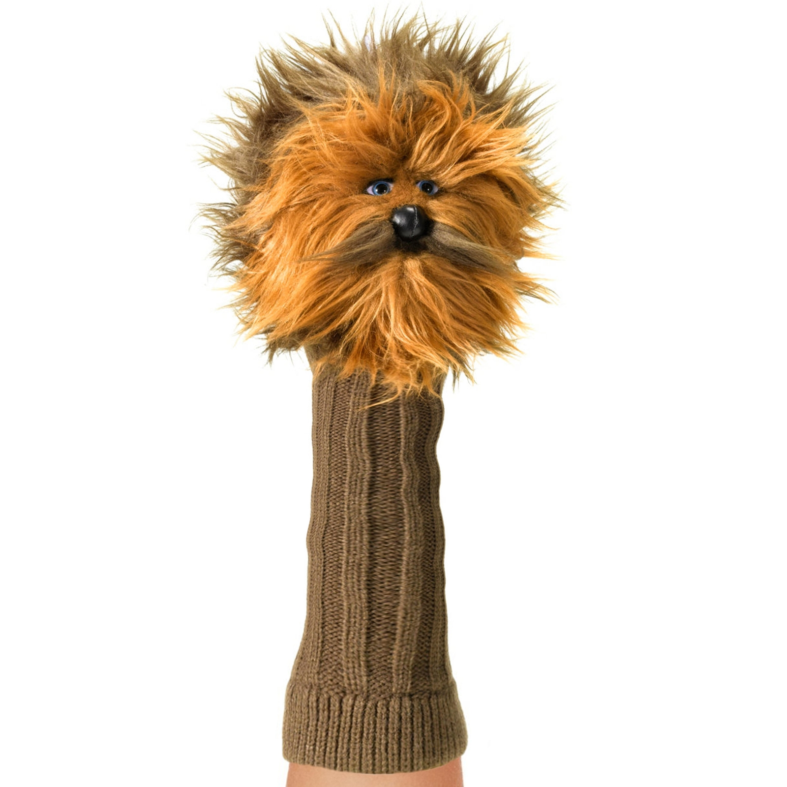 Licensed Hand Puppet Star Wars Figure for Children Self Expression - Chewbacca