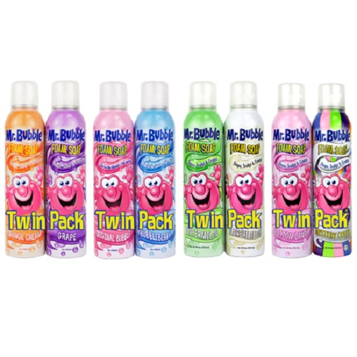 Mr. Bubble Foam Soap, Assorted, 8 oz, 2 count