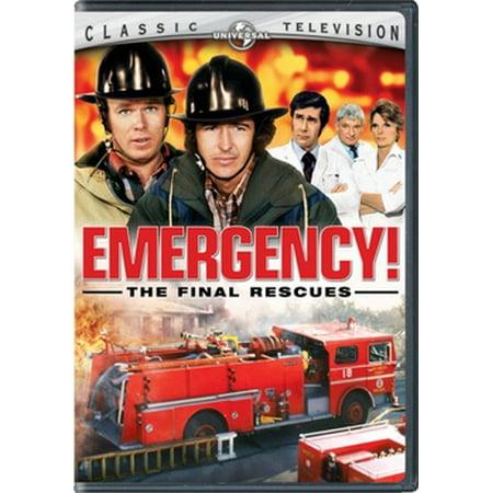 Emergency! The Final Rescues (DVD) (Emergency Dvd)