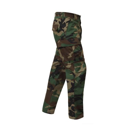 Woodland Camo Ripstop Bdu Pants (Rothco Rip-Stop BDU Cargo Pants, Woodland Camo)
