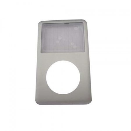 Silver Metal Front Panel Housing Replacement For Apple iPod Classic 6th/7th (Ipod Touch Gen 2 Front Panel Assembly)