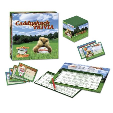 Caddyshack Trivia, Includes 1,000 trivia questions By USAopoly Ship from US - Us Trivia