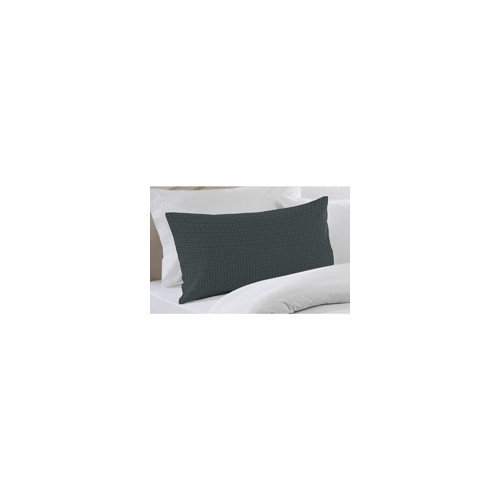 Patch Magic Dark Green and Blue Checks Pillow Sham