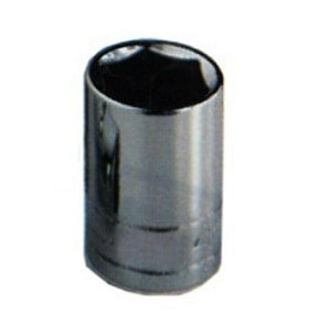 3/4 Inch Drive Standard 6 Point Chrome Socket - 1-3/8 Inch - image 1 de 1