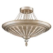 ELK Lighting Renee 11360/9 Semi-Flush - Aged Silver - 25W in.