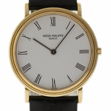 Pre-Owned Patek Philippe Calatrava 3744J Gold  Watch (Certified Authentic & -