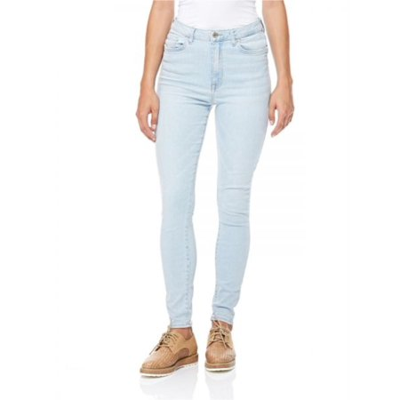Forever 21 Retro High Rise Skinny Fit, Blue, 30
