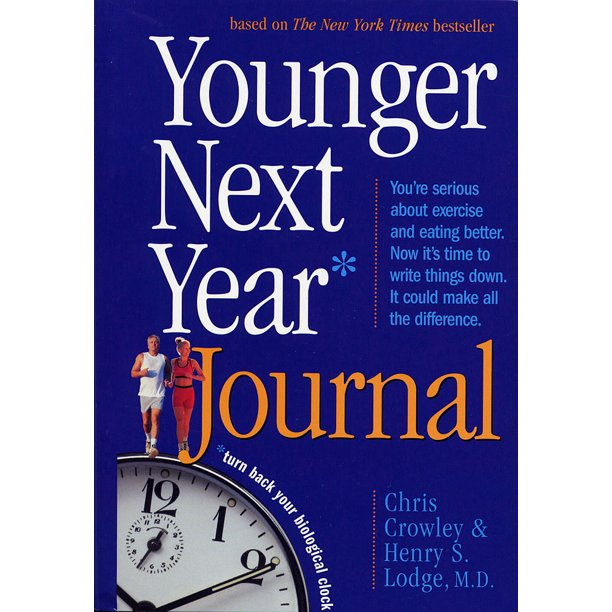 Younger Next Year Journal - Paperback