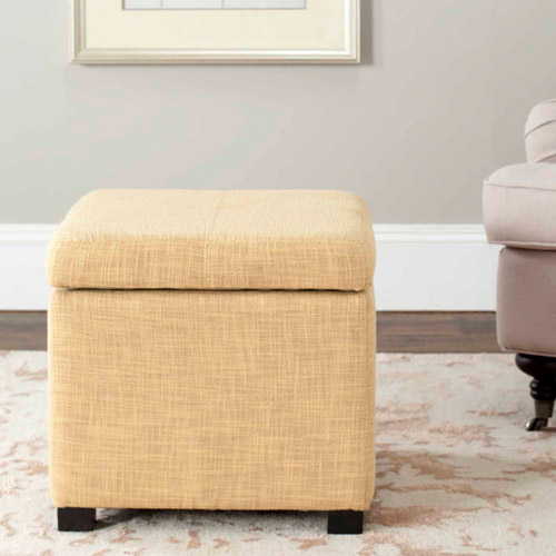 Safavieh Madison Square Ottoman, Multiple Colors