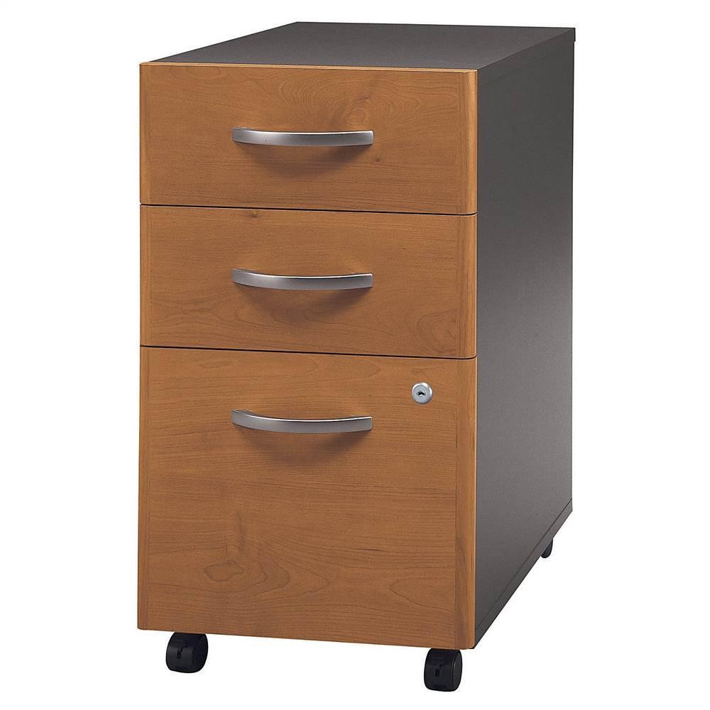 Office Storage w Two Drawers & File Drawer - Series C