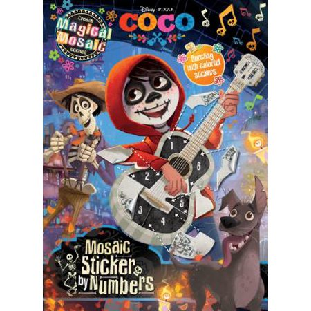 COCO MOSAIC STICKERS