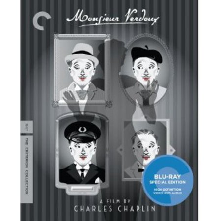 Monsieur Verdoux  Criterion Collection   Blu Ray