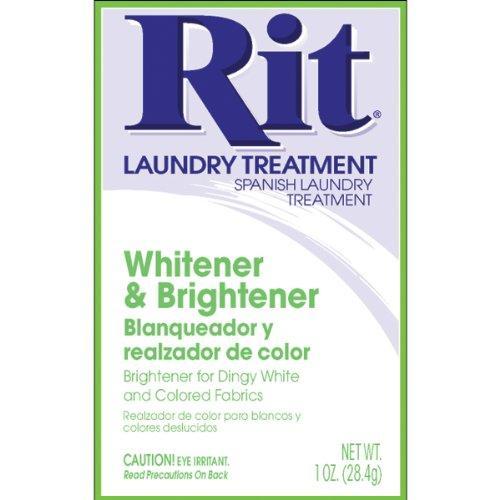Rit Laundry Treatment Whitener & Brightener 1 Oz Box