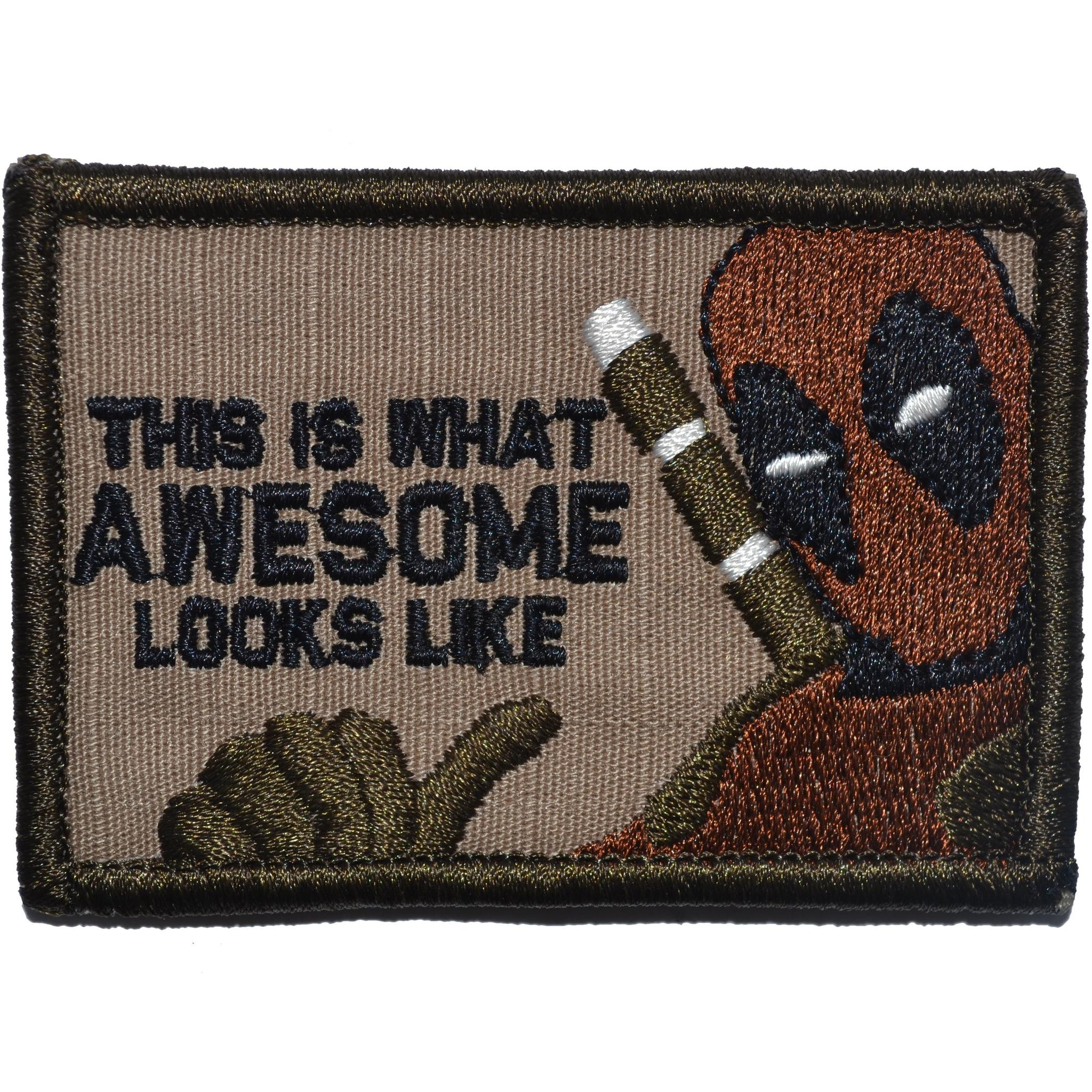 This is What Awesome Looks Like, Deadpool Parody - 2x3 Patch