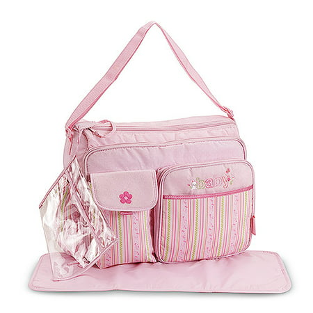 child of mine carters com lg pink diaper bag. Black Bedroom Furniture Sets. Home Design Ideas