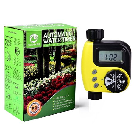 AUTOMATIC WATER TIMER – Digital Irrigation System Valve For ...