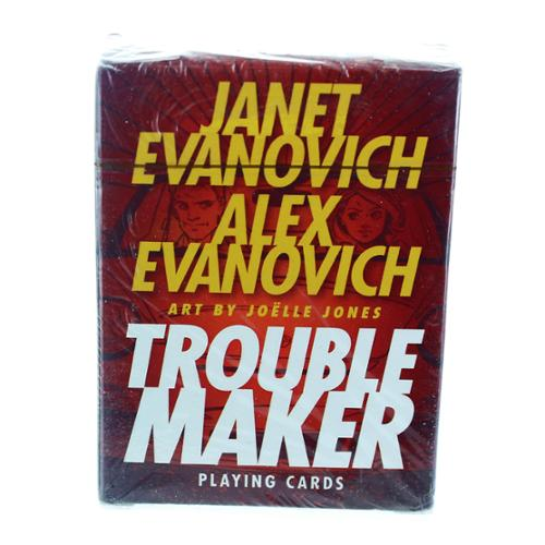 Janet Evanovich & Alex Evanovich Troublemaker Playing Cards