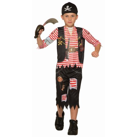 Halloween Pirate Lad Child Costume (Buy Costumes Online Uk)