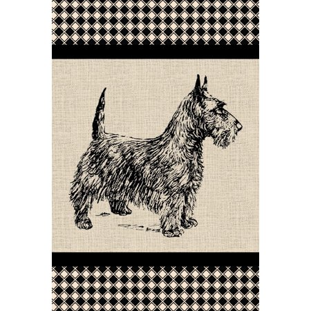 Scottish Terrier Notebook: Scottie Dog Notebook (Small Journal 6 X 9) (150 Blank Lined Pages, Soft Cover) (Diary, Notebook) (Terrier Journal)