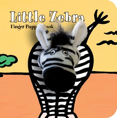 Little Zebra Finger Puppet Book (Board Book)