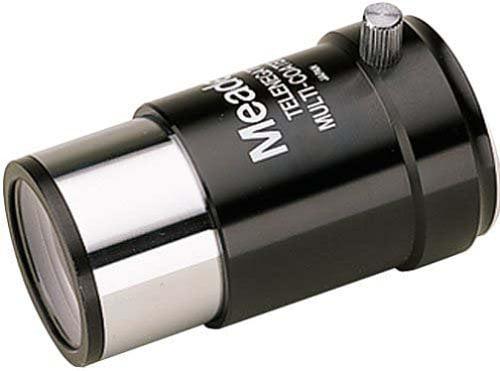 "Meade 128 Series 4000 3x Short-Focus Barlow Lens (1.25"") 07278 by"