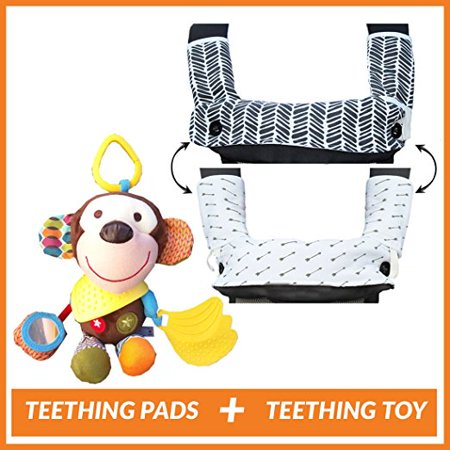 Teething Drooling Baby Set - Includes Chew Suck Pads for Ergobaby 360 Four Position Baby Carrier ...