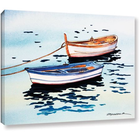 """ArtWall Bill Drysdale """"Sage Vernazza Light"""" Gallery-Wrapped Canvas"""