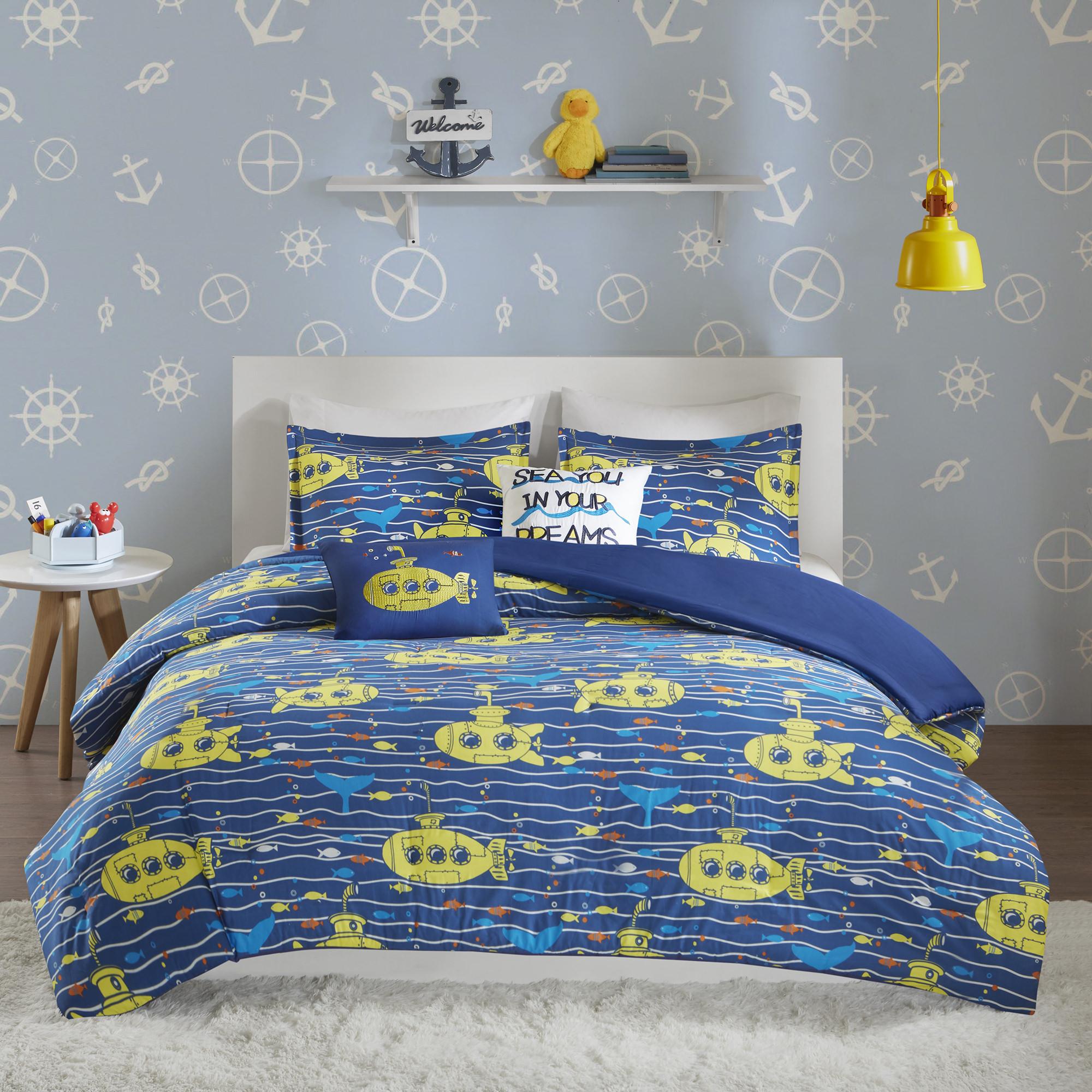 Home Essence Kids Collins Cotton Printed Duvet Cover Set