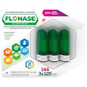 FLONASE Allergy Relief Nasal Spray (144 sprays per bottle, 3 ct.)