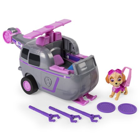 Paw Patrol - Flip & Fly Skye, 2-in-1 Transforming Vehicle - Toys That Fly