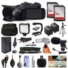 """Canon XA20 Professional Camcorder Video Camera + 128GB Boardcasting Filmmaker's Package with LED Night Light + Tripod + Monopod + Action Stabilizer + Handgrip + Microphone + More """"Native 1920 x 1080, 1/2.84"""""""" CMOS Sensor, 20x HD Zoom LensCanon Digic DV 4 Image Processor, Dynamic Image Stabilization3.5"""""""" OLED Touch Panel View Screen, Manual Camera Controls2 x XLR with Manual/Auto Audio Levels, HDMI, Composite2 x SD/SDHC/SDXC Media Card Slots, Built-in Wi-Fi Connectivity & Control"""""""