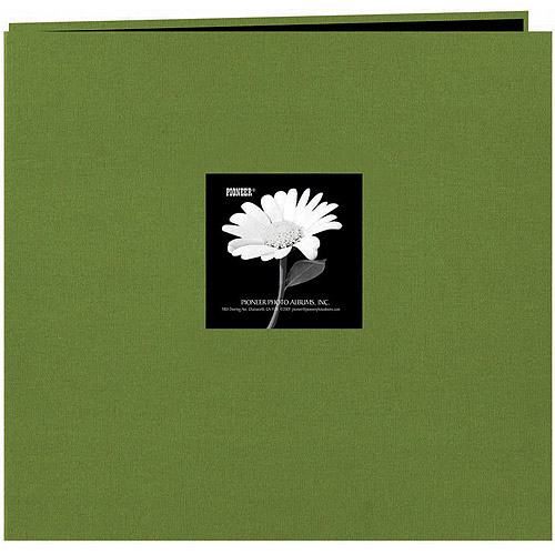 "Pioneer Fabric Frame Post Bound Scrapbook, 12"" x 12"""