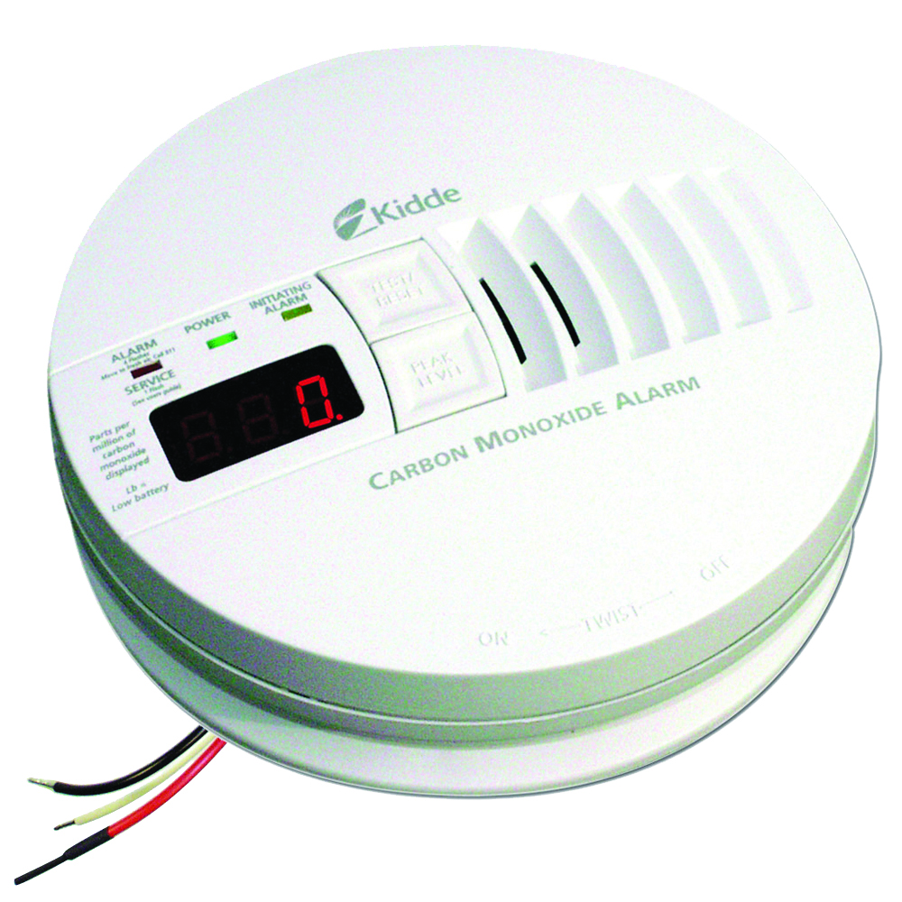 Kidde Hardwire Carbon Monoxide Alarm with Digital Display KN-COP-IC