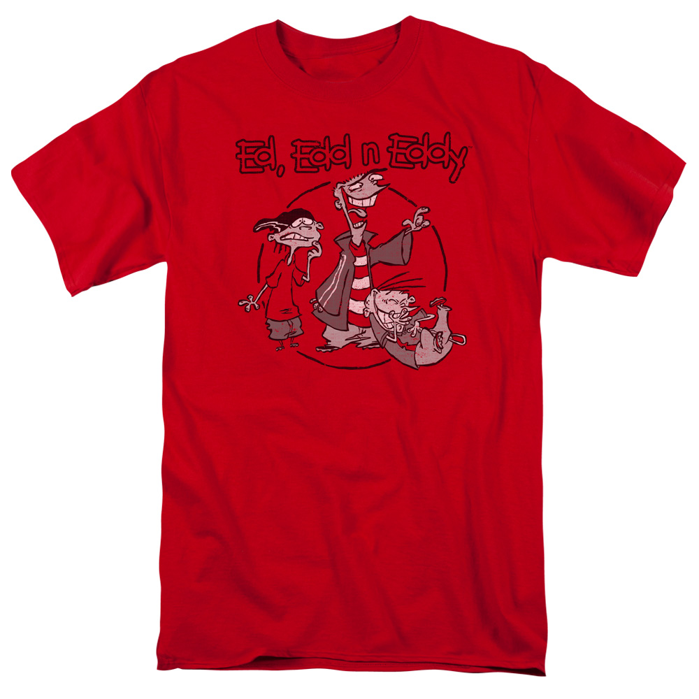 Ed Edd N Eddy/Gang S/S Adult 18/1   Red     Cn505