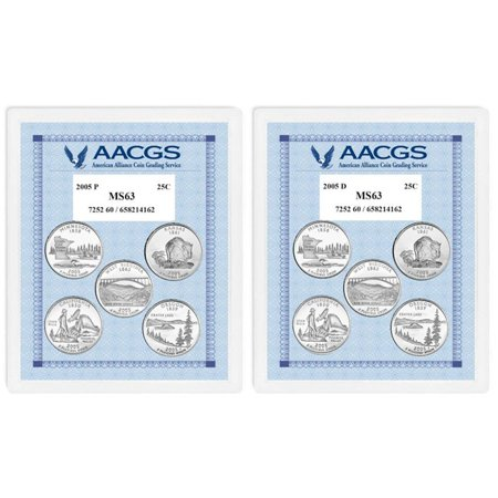 American Coin Treasures  Brilliant Uncirculated Statehood Quarters (California, Minnesota, Oregon, (The American Vision Modern Times California Edition)