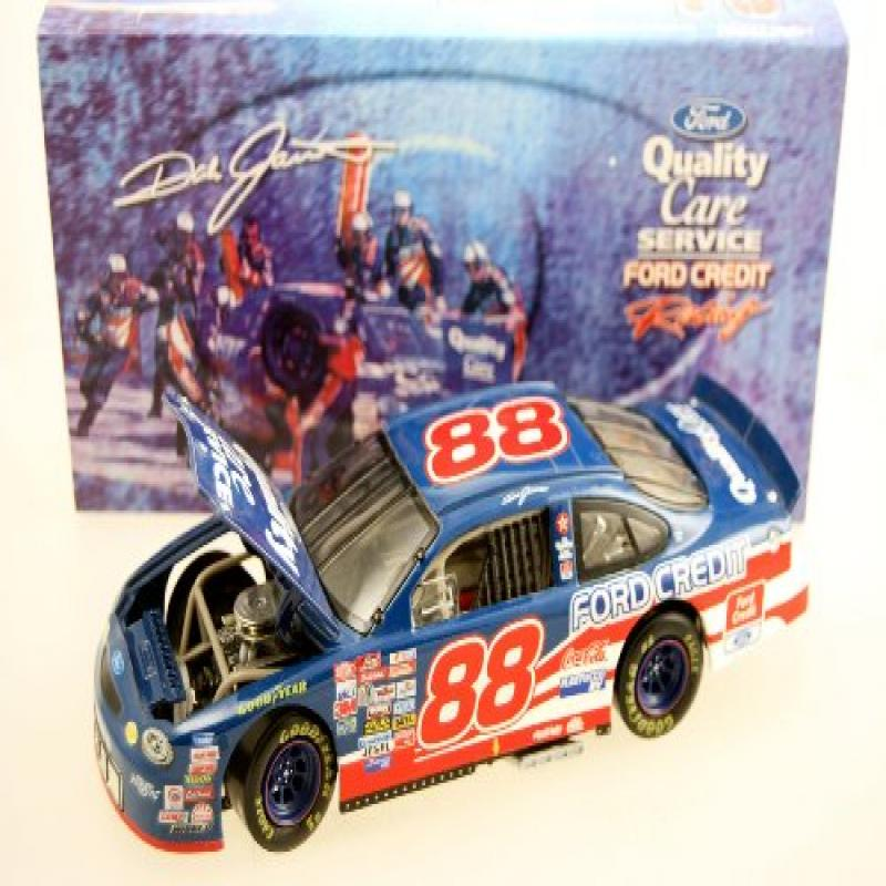 Action Nascar Dale Jarrett #88 1999 Ford Taurus Quality Care 1:24 Scale Die Cast Bank Rare... by