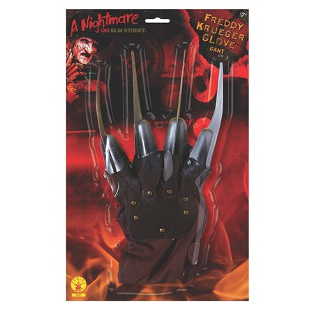 Nightmare on Elm Street Freddy Krueger Plastic Costume Glove (A Nightmare On Elm Street Costume)