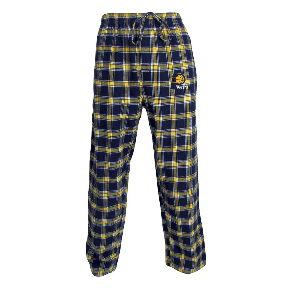 Men's Indiana Pacers Plaid Pajama Bottoms