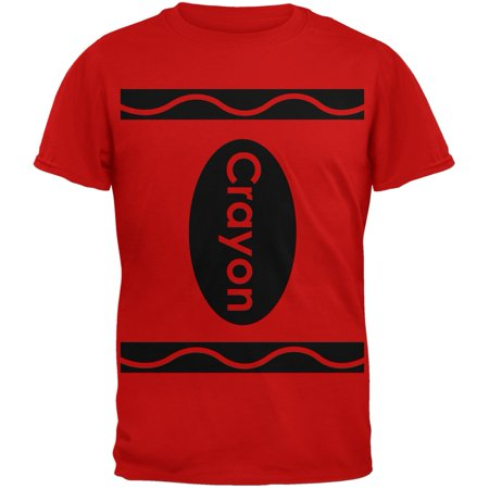 Halloween Crayon Costume Red T-Shirt