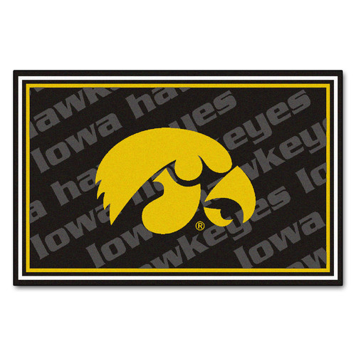Sports Rug - University of Iowa  (4 ft. x 6 ft.)