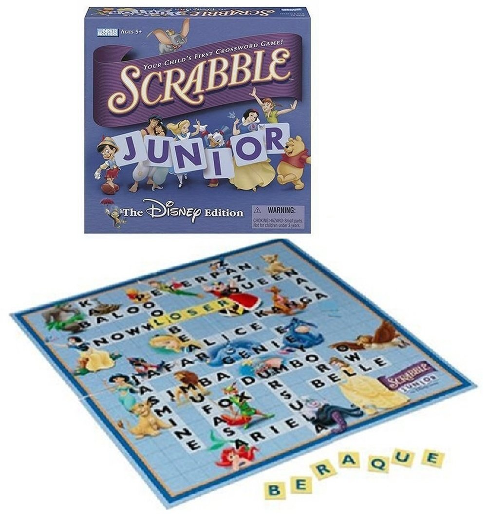 Scrabble Junior The Disney Edition (2004), Disney version of the classic crosswords game... by