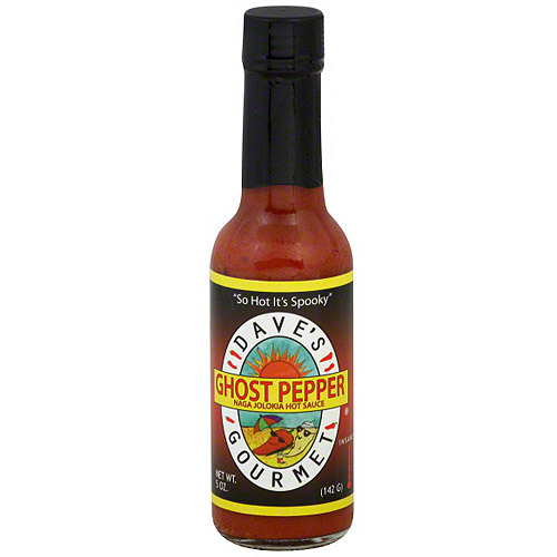 Dave's Gourmet Ghost Pepper Hot Sauce, 5 oz (Pack of 12)
