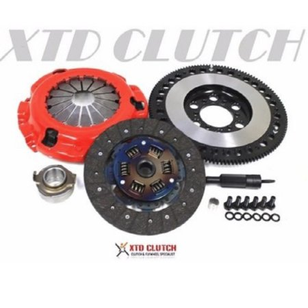 XTD STAGE 2 CLUTCH & 11LBS RACE FLYWHEEL KIT 86-91 MAZDA RX-7 TURBO (Mazda 2 Turbo)