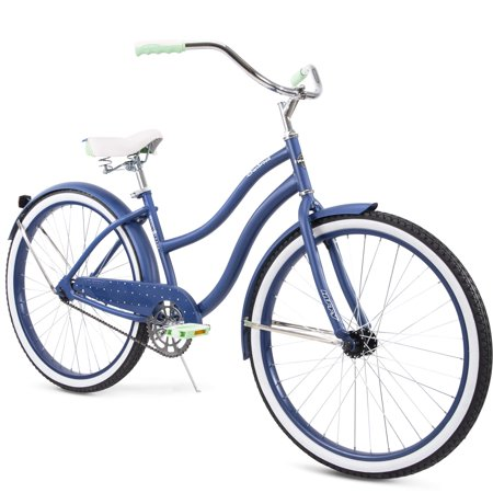 """Huffy 26"""" Cranbrook Women's Comfort Cruiser Bike, Blue"""