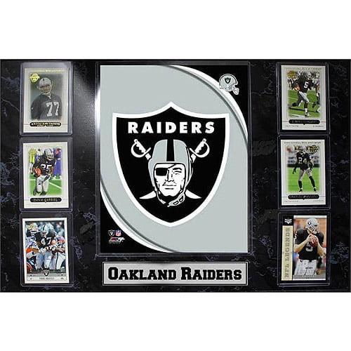NFL Oakland Raiders 6-Card Plaque, 13x20